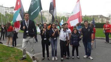 Ambassadeurs zone drapeaux