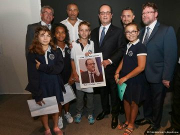 Photo hollande + élèves
