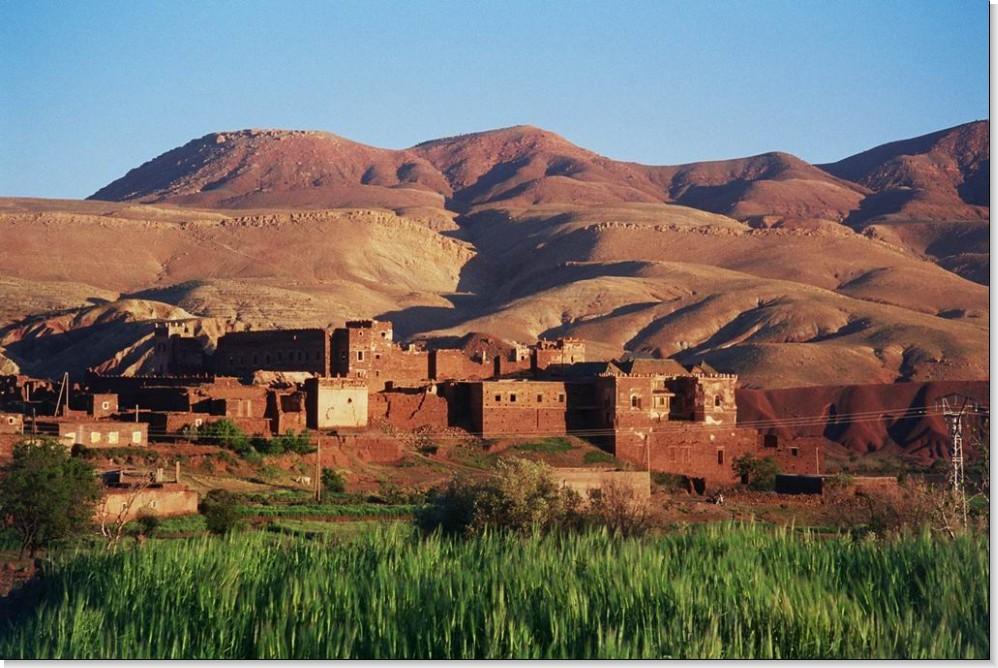 Visuel haut Atlas marocain