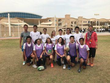 Equipe rugby Jeux du Golfe