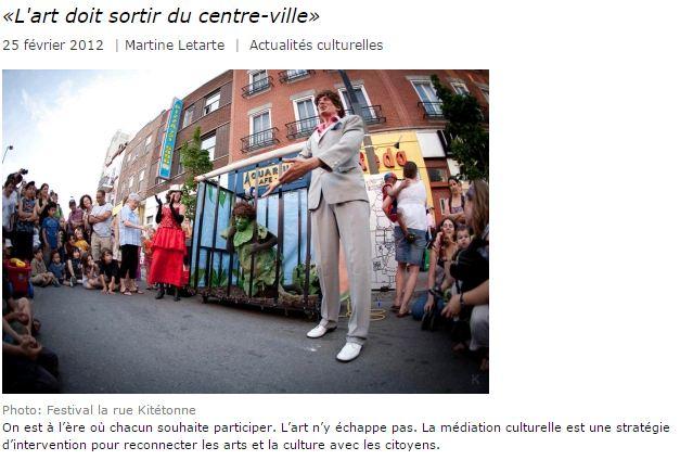 festival rue Kitétonne Montreal